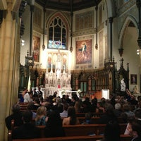Photo taken at St. Patrick's Basilica by Danny U. on 8/10/2013