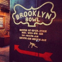 Photo prise au Brooklyn Bowl par @britodiego le5/1/2013
