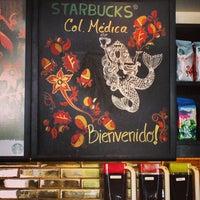 Photo taken at Starbucks Colonia Médica by @britodiego on 9/21/2013