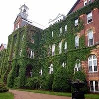 Photo taken at Saint Anselm College by Lan M. on 5/29/2013