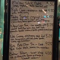 Das Foto wurde bei Kedai Makan von Midtown Lunch LA am 2/23/2013 aufgenommen