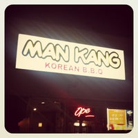 Photo taken at ManKang 만강 by Midtown Lunch LA on 10/23/2012