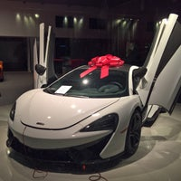 Photo taken at McLaren Auto Gallery Beverly Hills by Kernst C. on 6/26/2016