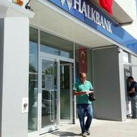 Photo taken at Halkbank by 💝💝Lütfıye💎 . on 7/22/2016