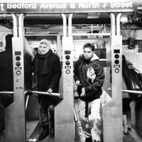 Photo taken at MTA Subway - L Train by Pao C. on 2/10/2013