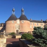 Photo taken at Château de Saint-Fargeau by Benoit L. on 5/27/2014