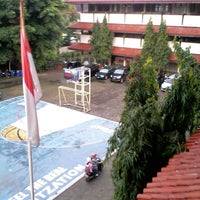 Photo taken at SMPN 107 Jakarta by Erisa S. on 6/17/2014