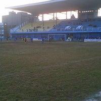 Photo taken at Stadion Persib by ǰoϛĥ Η. on 6/27/2015