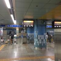 Photo taken at Baekseok Stn. by jongmin k. on 9/24/2016