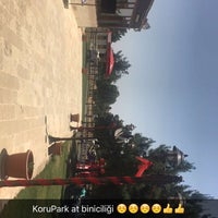 Photo taken at Korupark by Taha B. on 5/22/2016