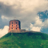 Photo taken at Gediminas' Tower of the Upper Castle by Elena E. on 7/28/2013