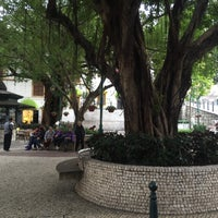 Photo taken at Largo do Lilau / Lilau Square 亞婆井前地 by Tu R. on 2/28/2016