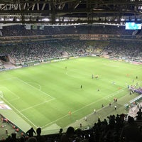 Photo taken at Allianz Parque by Adilson G. on 1/18/2018