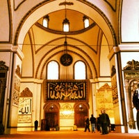 Photo taken at Ulu Cami by Yousuf A. on 4/9/2013