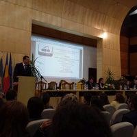 Photo taken at Universitatea de Vest by Patricia F. on 9/30/2013