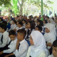 Photo taken at SDN Dinoyo 2 Malang by Robiq Y. on 6/21/2014