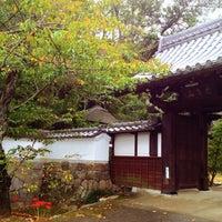 Photo taken at 太子山正法寺 by Yoshihito H. on 9/20/2014