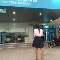 Photo taken at ธนาคารกรุงไทย สาขาเขื่องใน by mhiw💫 on 3/24/2016