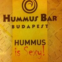 Photo taken at Hummus Bar by Anna B. on 4/7/2013