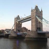 Photo taken at Tower Bridge by Masaya S. on 5/26/2013