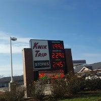 Photo taken at Kwik Trip #393 by Stephanie on 11/26/2016