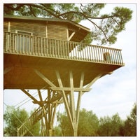 """Photo taken at Casa sull'Albero """"Black Cabin"""" by Willy on 9/28/2013"""