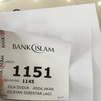 Photo taken at Bank Islam by Eleena A. on 3/15/2016