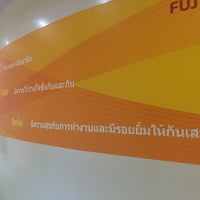 Photo taken at Fuji Xerox (Thailand) Co., Ltd. by Rakjung on 4/25/2017