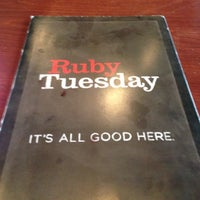 Photo taken at Ruby Tuesday by Chris N. on 10/25/2012