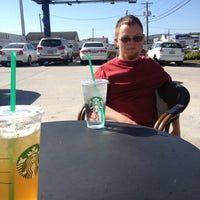 Photo taken at Starbucks by Crystal Leigh W. on 10/31/2012