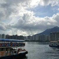 Photo taken at Ma Liu Shui Ferry Pier by Barbara T. on 7/3/2016