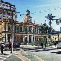 Photo taken at Paço Municipal by Alice C. on 4/28/2016