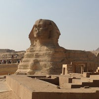 Photo taken at Great Sphinx of Giza by Ingo R. on 1/4/2013