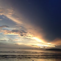 Photo taken at Ao Nang Beach by Bow S. on 11/1/2012