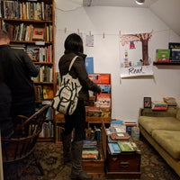 Photo taken at Adobe Books & Art Cooperative by Ciaee C. on 1/7/2018