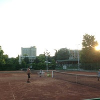 Photo taken at Tennis Club Albena by Arthur D. on 7/9/2013