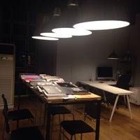 Photo taken at Rafine Design by Mustafa G. on 10/28/2014