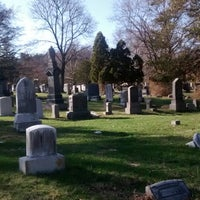 Photo taken at Moravian Cemetery by Jenn S. on 4/10/2014