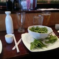 Photo taken at Sake Cafe by Traci M. on 1/8/2013