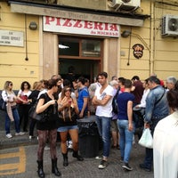 Photo taken at L'Antica Pizzeria da Michele by La C. on 4/30/2013