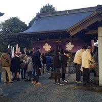 Photo taken at 諏訪神社 by yuki i. on 1/1/2016
