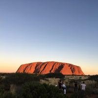 Photo taken at Uluru by Yuhei A. on 2/21/2017