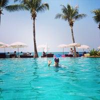 Photo taken at Lanta Casuarina Beach Resort Koh Lanta by Piotr O. on 2/12/2015