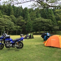 Photo taken at 池ヶ成公園キャンプ場 by yamada s. on 7/29/2016
