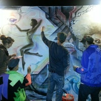 Photo taken at The Art Murmur In Oakland by Tiffany B. on 11/3/2012