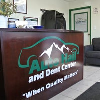 Photo taken at Auto Hail and Dent Center by Auto Hail A. on 4/27/2016