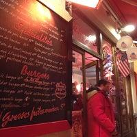 Photo taken at Le Fil Rouge Café by Oleg N. on 11/15/2012