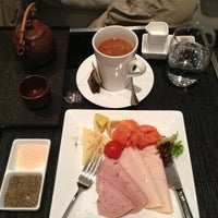 Photo taken at Etihad First Class Lounge & Spa by Celia S. on 1/4/2013