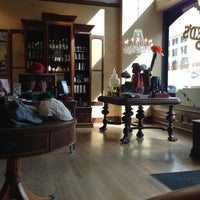 Photo taken at Red's Classic Barber Shop Co. by Aaron B. on 3/14/2013
