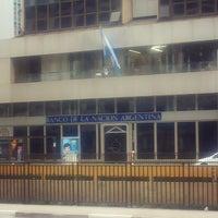 Photo taken at Banco de La Nación Argentina by Willian S. on 7/13/2014